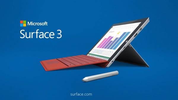 Surface 3 LTE-vel